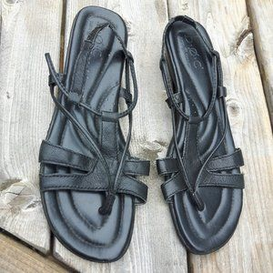 BORN Concept Leather Sandals Size 9